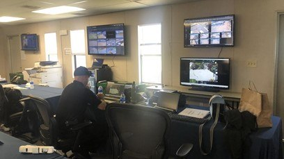 San Diego Police Department ensure public safety at the 2021 US Open Golf Championship