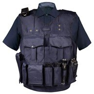 BlueStone Safety Products' custom load bearing vest carriers are completely made from scratch. (Courtesy photo)