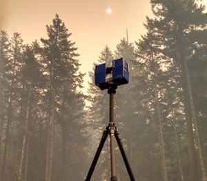 FARO 3D Laser Scanner at the scene of the 36 Pit Fire