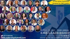 Presentations at The EMS Leadership Summit will cover leadership development, culture and people maintenance, professionalism, the future of EMS, advocacy and provider wellbeing.