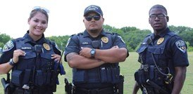 The body armor is placed in the outer carrier and it is worn over the uniform shirt. (Courtesy photo)