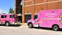 Prince George's County rolls out pink ambulance