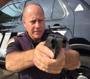 Snub nose revolvers are still an excellent choice for police backup/off-duty use and the Charter Arms Pitbull fires 9mm semi-automatic ammunition. (Photo/Steve Tracy)