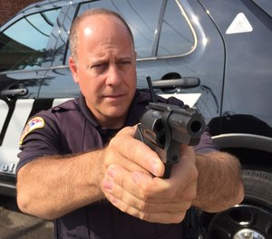 Snub nose revolvers are still an excellent choice for police backup/off-duty use and the Charter Arms Pitbull fires 9mm semi-automatic ammunition.