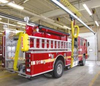 How NFPA-recommended diesel exhaust source capture systems protect firefighters' health