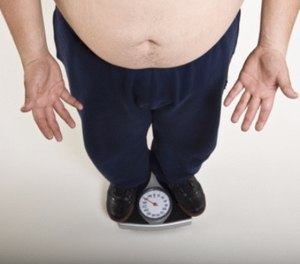 A report found that more than 40 percent of police officers, firefighters, and security officers are obese.