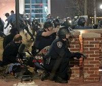 2 officers shot outside Ferguson police station