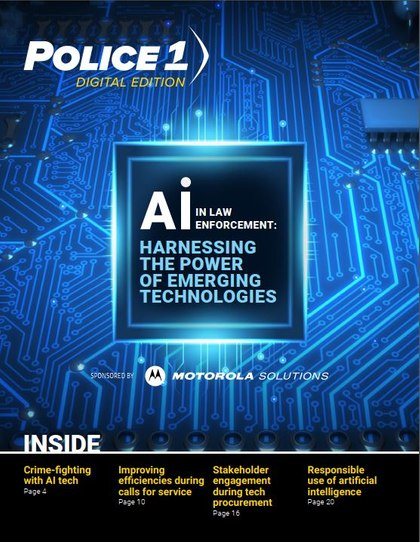 Digital Edition: How to harness the power of AI in law enforcement