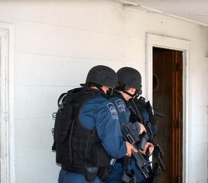 Whether acting to win hearts and minds in wartime or cleaning up crime on American streets, the police and the military are also linked by the perceptions of the very people they hope to protect.