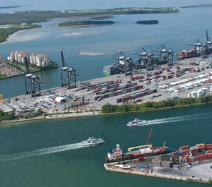 Miami-Dade Fire Station No. 39 near Port Miami, the world's busiest cruise port, has stopped offering parking in exchange for donations after ethics investigators said it was likely against county rules.