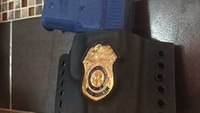 For plain-clothes and off-duty carry: Imbed your badge into custom Kydex