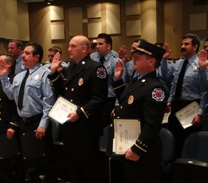 If you are a chief officer, you probably went through a promotion gauntlet to get to your rank. Members new to the profession have the gauntlet to look forward to. (Photo/City of El Paso)