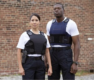 Propper's four-panel armor allows for a more custom and comfortable fit and enables better mobility while officers are performing a variety of maneuvers on the job. The 4PV-FEM model is specifically designed to fit a female officer.