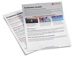 Download a free funding guide from Pulsara to learn more about COVID-19 relief funding opportunities for EMS.