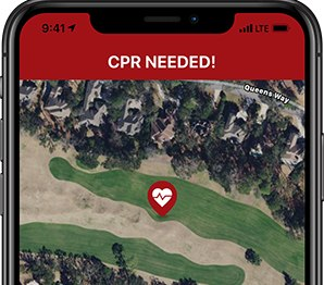 Local first responders hope community members download the app and set it to alert when someone in the user's vicinity is in cardiac arrest. That way, if he or she is closer than EMS, CPR can begin sooner. (Photo/PulsePoint)