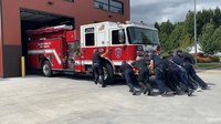 Wash. fire station receives first new engine in 21 years