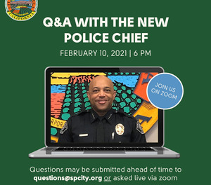 The City of Santa Paula, California recently introduced its new police chief to the community through live, virtual Q&A sessions with community members.
