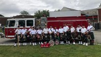 Boston Pipes and Drums band saves float driver after July 4 parade