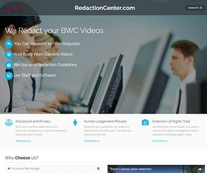 QueTel has launched the Redaction Center, where agencies can outsource their redaction through a secure web platform to skilled technicians trained to redact faces and other sensitive subject matter.