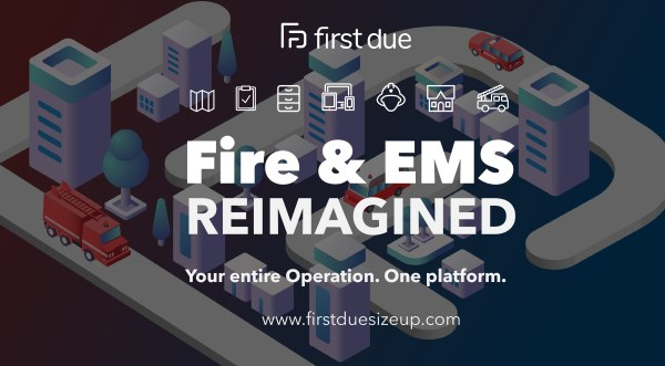 First Due has partnered with SaaS and public safety industry leaders to build the next generation end-to-end software suite for fire and EMS agencies, allowing them to run their operation on a single platform. (Courtesy photo)