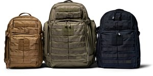 The RUSH 2.0 tactical backpacks from 5.11 offer custom organization, extra padding in three sizes.