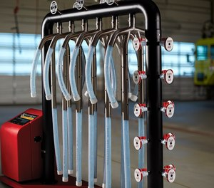 Ram Air Gear Dryers, like this TG-6 model, shorten drying time so fire agencies can get firefighters mission-ready faster.