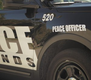 Redlands Police Department squad car with Peace Officer decal. (Photo/National Police Foundation)