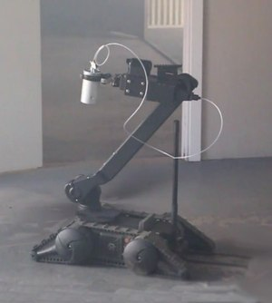 Robots are a great, safe option for delivering chemical agents or distraction devices.