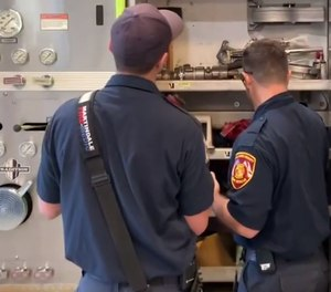 There are countless opportunities for new firefighters to learn from their peers.