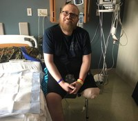 Move over, urges paramedic who lost leg after being struck