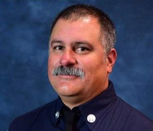 Capt. David Rosa was killed after being struck by gunfire while responding to a retirement home. (Photo/Long Beach Fire Dept.)