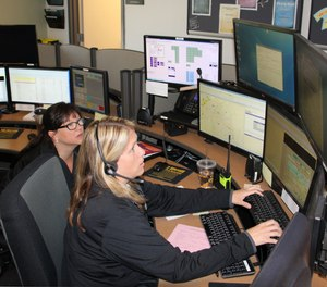 Dispatchers at Roswell 911 in Roswell, Georgia have a portable backup system that can be quickly deployed should the dispatch center need to be relocated. (photo/Roswell 911)