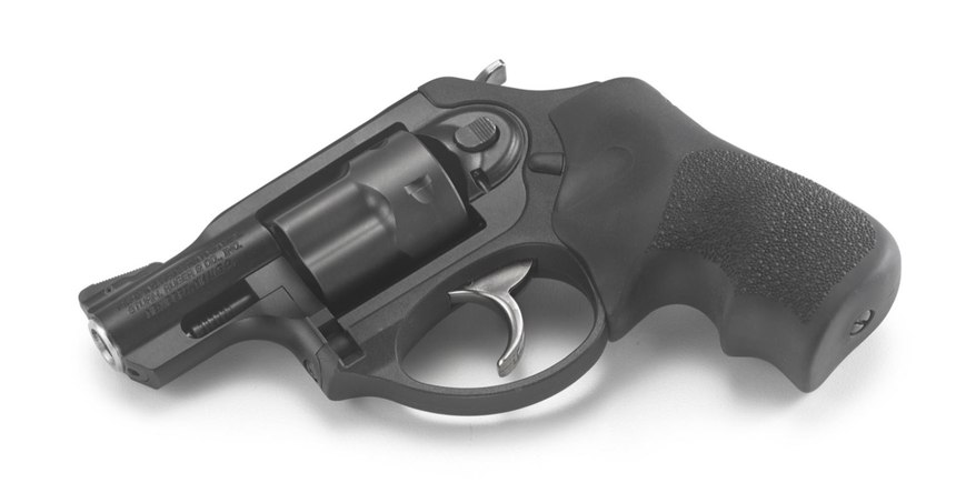 At a weight of less than 14 ounces, Ruger's LCR line is light and highly concealable even in shorts and a t-shirt.