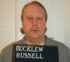 Russell Bucklew. (Missouri Department of Corrections via AP, File)