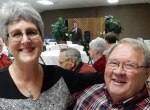 Raymond Laborde Correctional Center Warden Sandy McCain with his wife, Diane. (Courtesy photo)