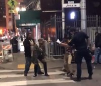 Video: San Francisco EMT joins dance party in street