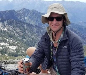 """Daniel Komins, 34, is an """"experienced"""" hiker who embarked on a five-day solo trip to the Trinity Alps, about 75 miles northwest of Redding. (Photo/Trinity County Sheriff's Department)"""