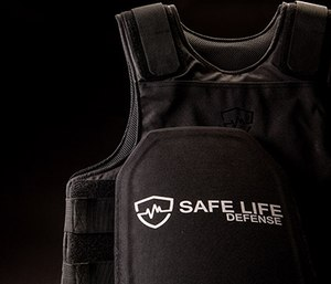Caption: Safe Life Defense vests come in sizes 4XS-7XL and are designed with 10 points of adjustability to provide a wide range of fit options without the need for custom measurements.