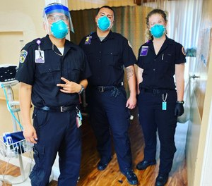 EMTs from Royal Ambulance stepped in to help staff skilled nursing facilities (SNFs) in the Bay Area after several SNF staff members and residents fell ill.