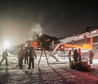 Rescue flight leaves South Pole with 2 sick US workers