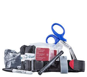 Regardless of your method to stop the bleed, it's imperative that you're comfortable with the tools in your toolbox and that you know where to find them quickly when needed.