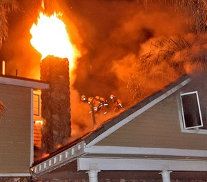 Residential fires are the most common fire that your department will experience and should never be taken lightly. (Photo/Keith D. Cullom)