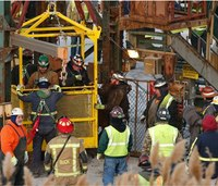 17 miners rescued from America's deepest salt mine