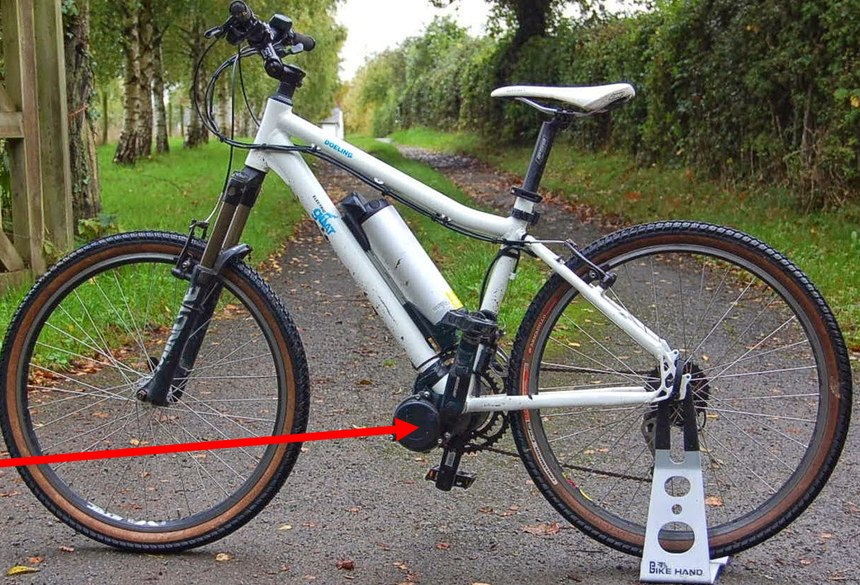 Bolt-on motors is a cost-effective wayto turn a conventional bike into an e-bike.