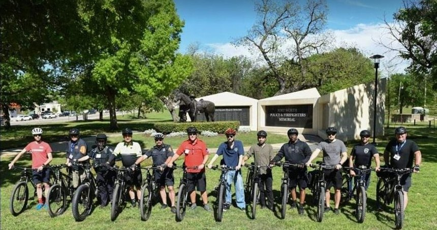 E-bike workshop at 2019 IPMBA Conference, Fort Worth, Texas.
