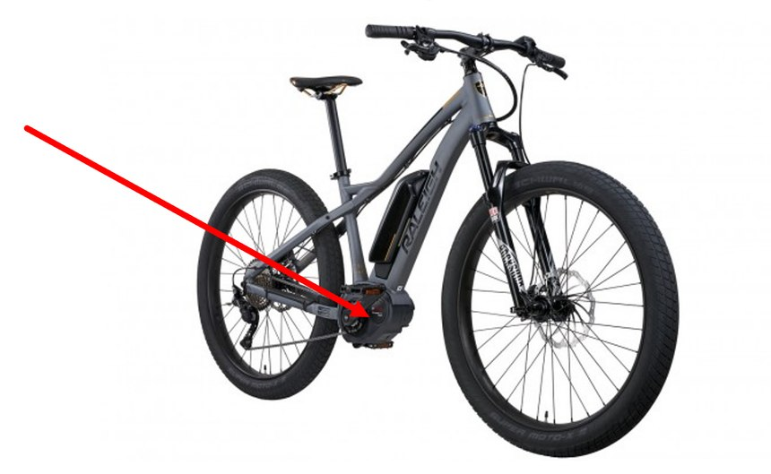 Mid/center-drive units rideand actas a conventional bicycle.