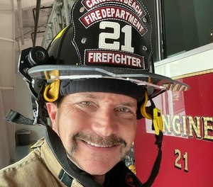 As we were donning turnout gear for what is announced as a working fire, I hear the address of the call – my home address.