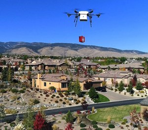 When a 911 dispatcher is alerted to a cardiac arrest victim, in addition to sending an ambulance, they will also provide instructions for using a defibrillator delivered by a drone to allow emergency action to be taken faster than paramedics can arrive.