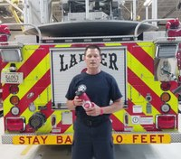 Video: The importance of firefighter hydration