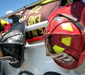 When it's time to hang up the helmet, firefighters need to make important decisions about how to receive their pension. (Photo/Matthew Broom)